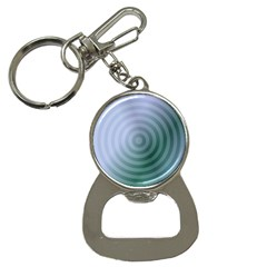 Teal Background Concentric Button Necklaces