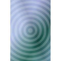 Teal Background Concentric 5 5  X 8 5  Notebooks