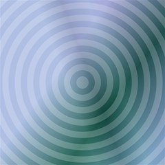 Teal Background Concentric Magic Photo Cubes