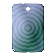 Teal Background Concentric Samsung Galaxy Note 8 0 N5100 Hardshell Case