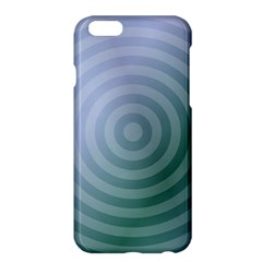 Teal Background Concentric Apple Iphone 6 Plus/6s Plus Hardshell Case