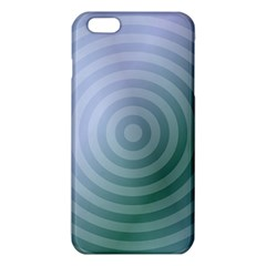 Teal Background Concentric Iphone 6 Plus/6s Plus Tpu Case