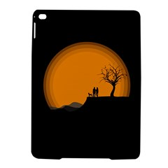 Couple Dog View Clouds Tree Cliff Ipad Air 2 Hardshell Cases