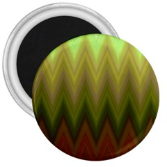 Zig Zag Chevron Classic Pattern 3  Magnets