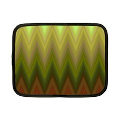 Zig Zag Chevron Classic Pattern Netbook Case (small)