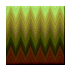 Zig Zag Chevron Classic Pattern Face Towel