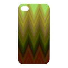 Zig Zag Chevron Classic Pattern Apple Iphone 4/4s Hardshell Case