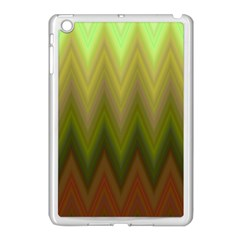 Zig Zag Chevron Classic Pattern Apple Ipad Mini Case (white)