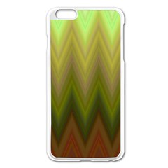 Zig Zag Chevron Classic Pattern Apple Iphone 6 Plus/6s Plus Enamel White Case