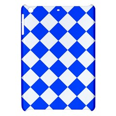 Blue White Diamonds Seamless Apple Ipad Mini Hardshell Case