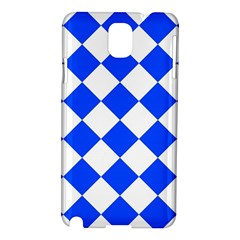Blue White Diamonds Seamless Samsung Galaxy Note 3 N9005 Hardshell Case