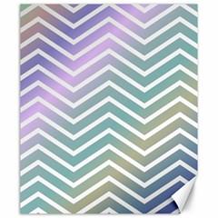 Zigzag Line Pattern Zig Zag Canvas 20  X 24