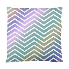 Zigzag Line Pattern Zig Zag Standard Cushion Case (two Sides)
