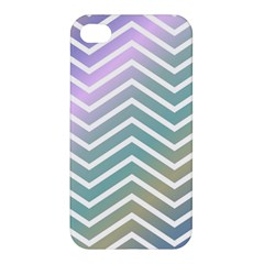 Zigzag Line Pattern Zig Zag Apple Iphone 4/4s Premium Hardshell Case