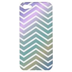 Zigzag Line Pattern Zig Zag Apple Iphone 5 Hardshell Case