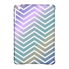 Zigzag Line Pattern Zig Zag Apple Ipad Mini Hardshell Case (compatible With Smart Cover)