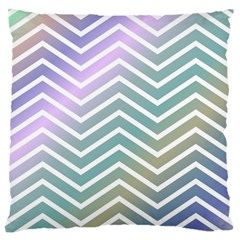Zigzag Line Pattern Zig Zag Standard Flano Cushion Case (two Sides)