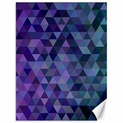 Triangle Tile Mosaic Pattern Canvas 18  X 24