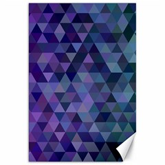 Triangle Tile Mosaic Pattern Canvas 20  X 30
