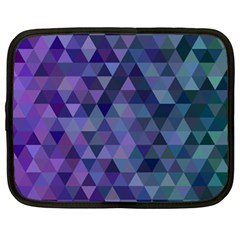 Triangle Tile Mosaic Pattern Netbook Case (xl)