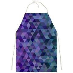 Triangle Tile Mosaic Pattern Full Print Aprons