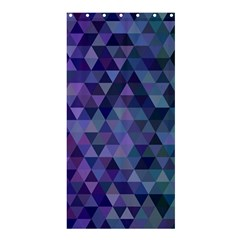 Triangle Tile Mosaic Pattern Shower Curtain 36  X 72  (stall)