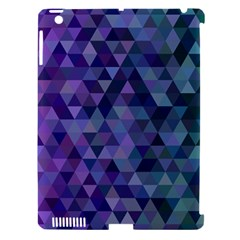 Triangle Tile Mosaic Pattern Apple Ipad 3/4 Hardshell Case (compatible With Smart Cover)