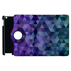 Triangle Tile Mosaic Pattern Apple Ipad 3/4 Flip 360 Case