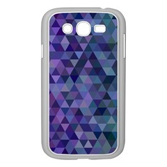 Triangle Tile Mosaic Pattern Samsung Galaxy Grand Duos I9082 Case (white)