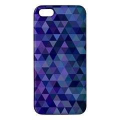Triangle Tile Mosaic Pattern Iphone 5s/ Se Premium Hardshell Case