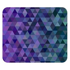 Triangle Tile Mosaic Pattern Double Sided Flano Blanket (small)