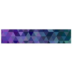Triangle Tile Mosaic Pattern Flano Scarf (small)