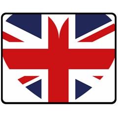 Uk Flag United Kingdom Fleece Blanket (medium)