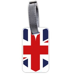 Uk Flag United Kingdom Luggage Tags (two Sides)