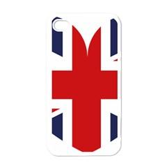Uk Flag United Kingdom Apple Iphone 4 Case (white)