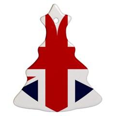 Uk Flag United Kingdom Ornament (christmas Tree)