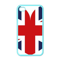Uk Flag United Kingdom Apple Iphone 4 Case (color)