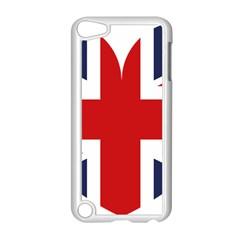 Uk Flag United Kingdom Apple Ipod Touch 5 Case (white)