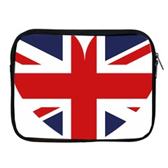Uk Flag United Kingdom Apple Ipad 2/3/4 Zipper Cases