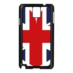 Uk Flag United Kingdom Samsung Galaxy Note 3 N9005 Case (black)
