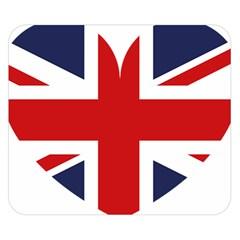 Uk Flag United Kingdom Double Sided Flano Blanket (small)