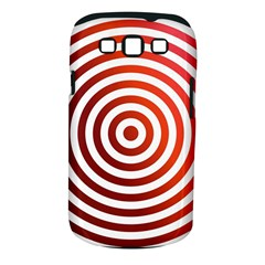 Concentric Red Rings Background Samsung Galaxy S Iii Classic Hardshell Case (pc+silicone)