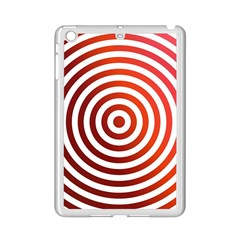 Concentric Red Rings Background Ipad Mini 2 Enamel Coated Cases