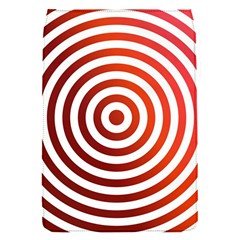 Concentric Red Rings Background Flap Covers (s)