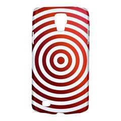 Concentric Red Rings Background Galaxy S4 Active