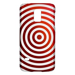 Concentric Red Rings Background Galaxy S5 Mini