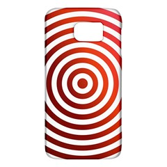 Concentric Red Rings Background Galaxy S6