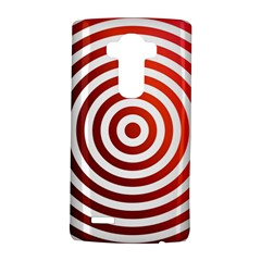 Concentric Red Rings Background Lg G4 Hardshell Case