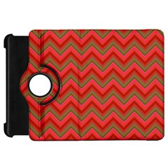Background Retro Red Zigzag Kindle Fire Hd 7