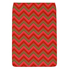 Background Retro Red Zigzag Flap Covers (s)